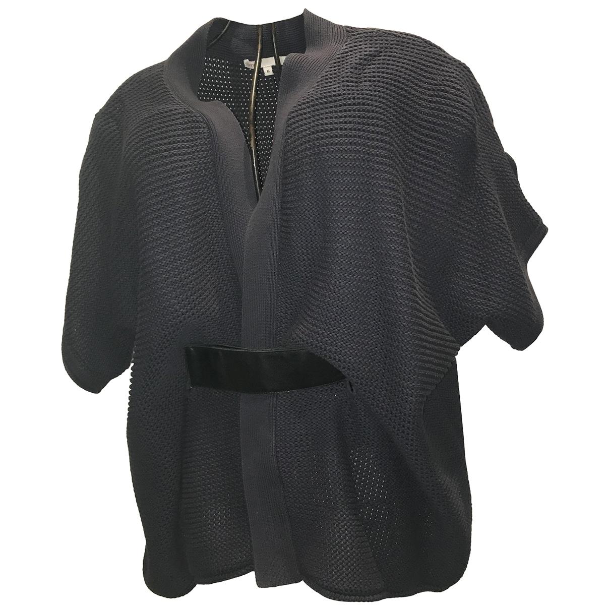 Maje \N Blue Cotton Knitwear for Women M International