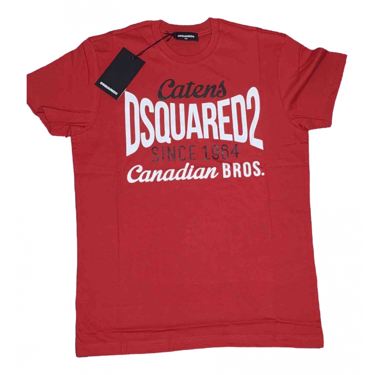 Dsquared2 \N Red Cotton  top for Kids 14 years - S UK