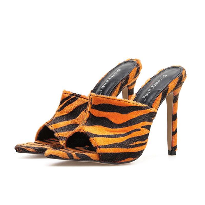 Ericdress Stiletto Heel Slip-On Flip Flop Women's Slippers