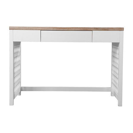 Taldring Writing Desk, One Size , White