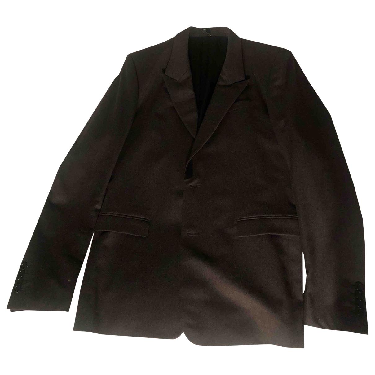 Dior Homme \N Anthracite Wool jacket  for Men 48 FR