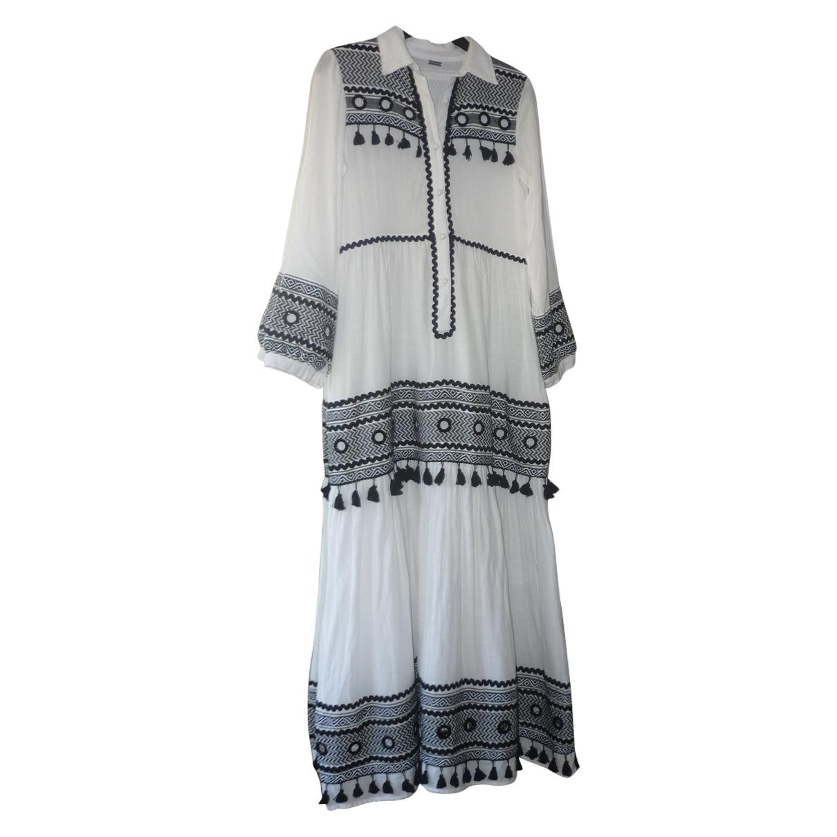 Dodo Bar Or \N Kleid in  Weiss Baumwolle