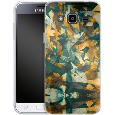 Samsung Galaxy J3 (2016) Silikon Handyhuelle - Raw Texture von Danny Ivan