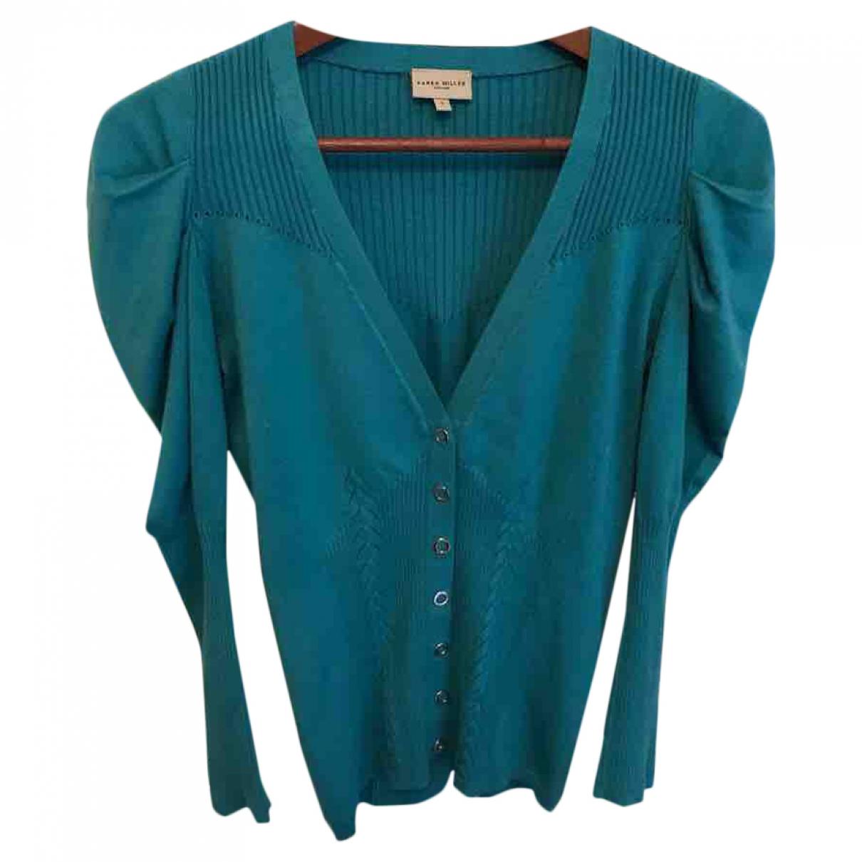 Karen Millen \N Turquoise Knitwear for Women 3 0-5