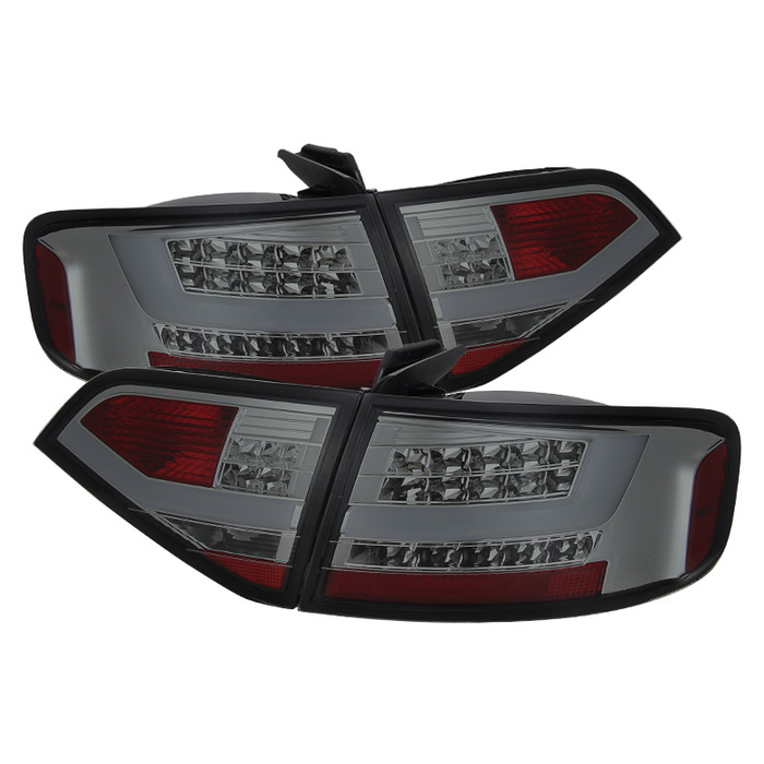 Spyder Auto ALT-YD-AA409-LED-SM Smoke LED Taillights Audi A4 4Dr with Incandescent Lights 09-12