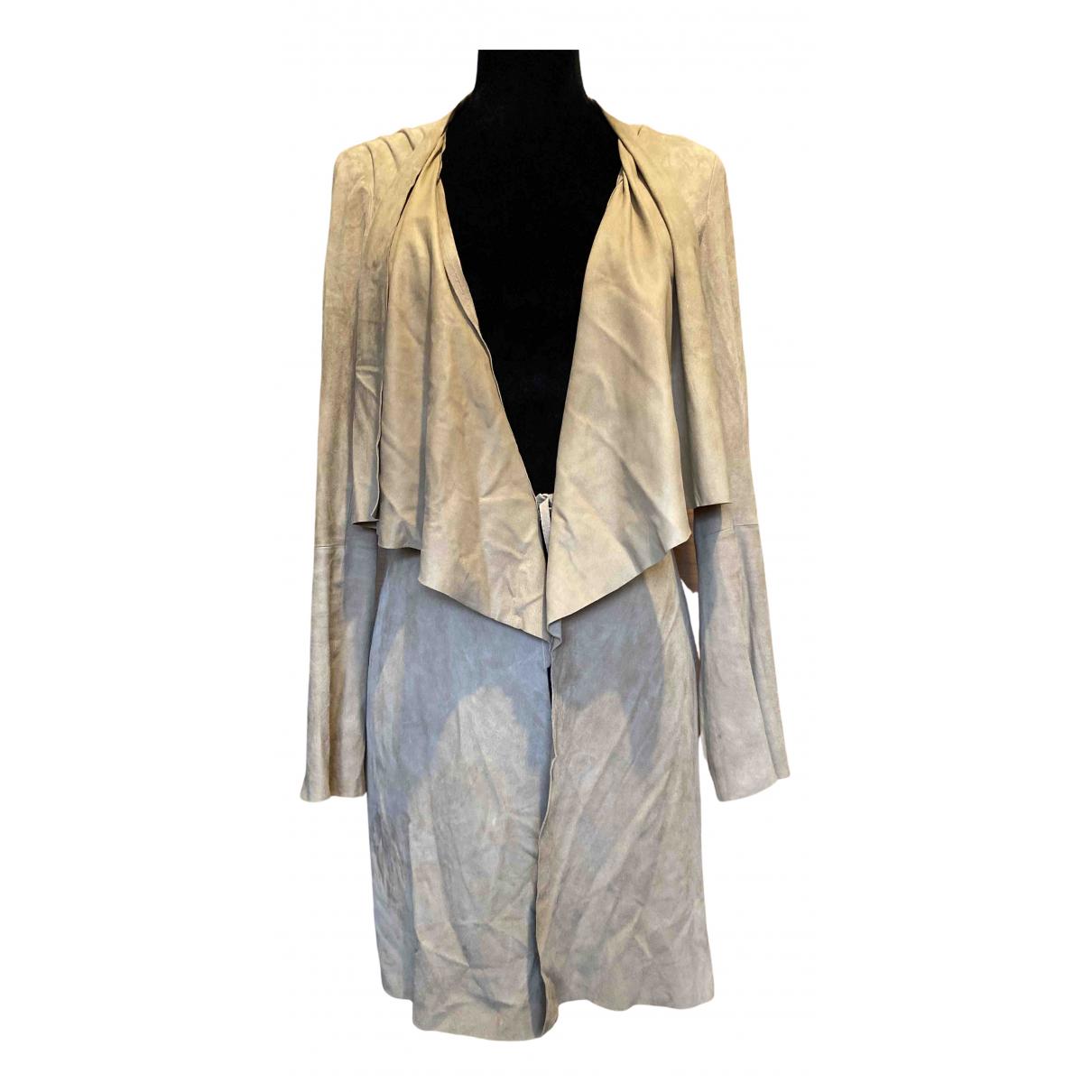 Zapa N Brown Leather jacket for Women S International