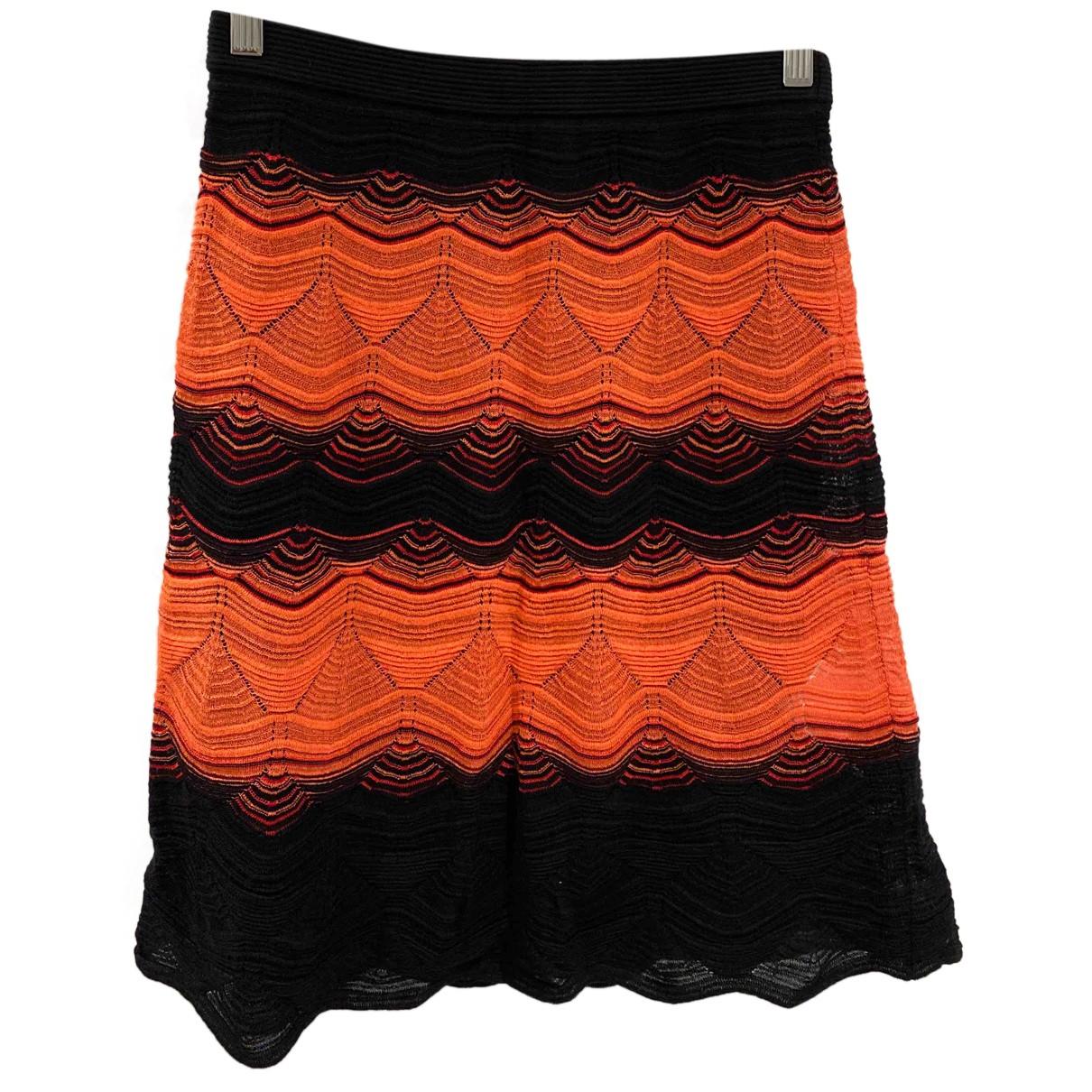 M Missoni N Orange Cotton skirt for Women 38 FR