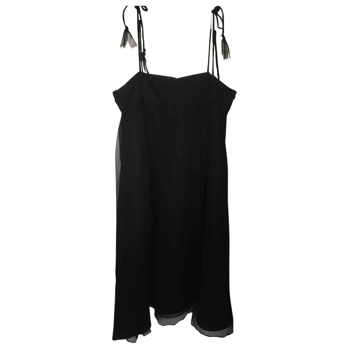 Bonpoint \N Black Silk dress for Kids 12 years - XS FR