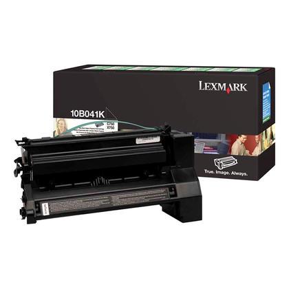 Lexmark 10B041K cartouche de toner du programme retour originale noire