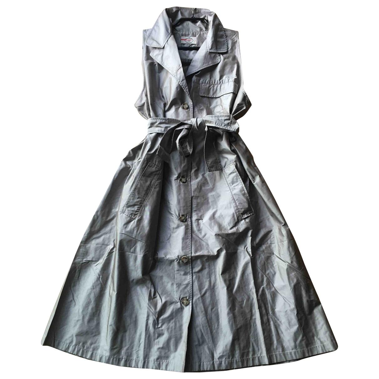 Prada \N Kleid in  Grau Polyester