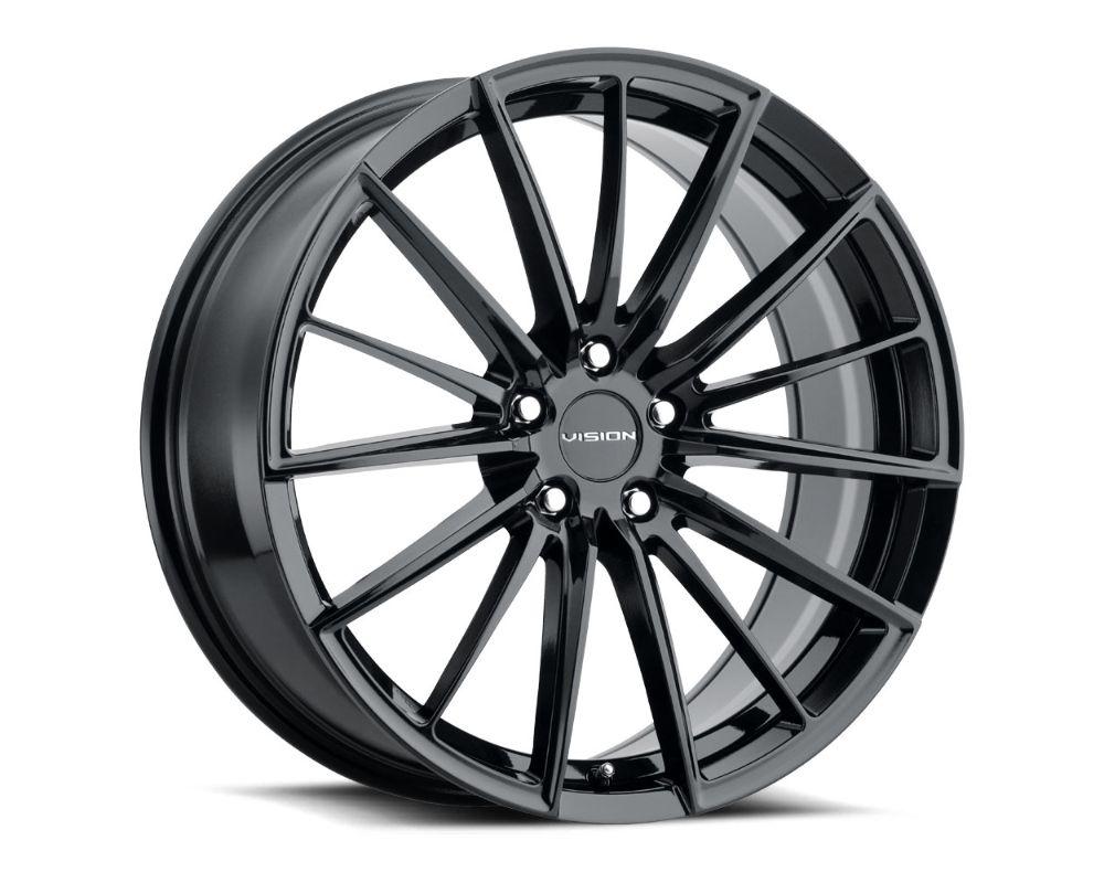 Vision Axis Wheel 20x8.5 5x120 35mm Gloss Black