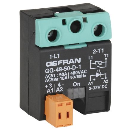 Gefran 25 A Solid State Relay, Zero Crossing, Surface Mount, SCR, 230 V ac Maximum Load