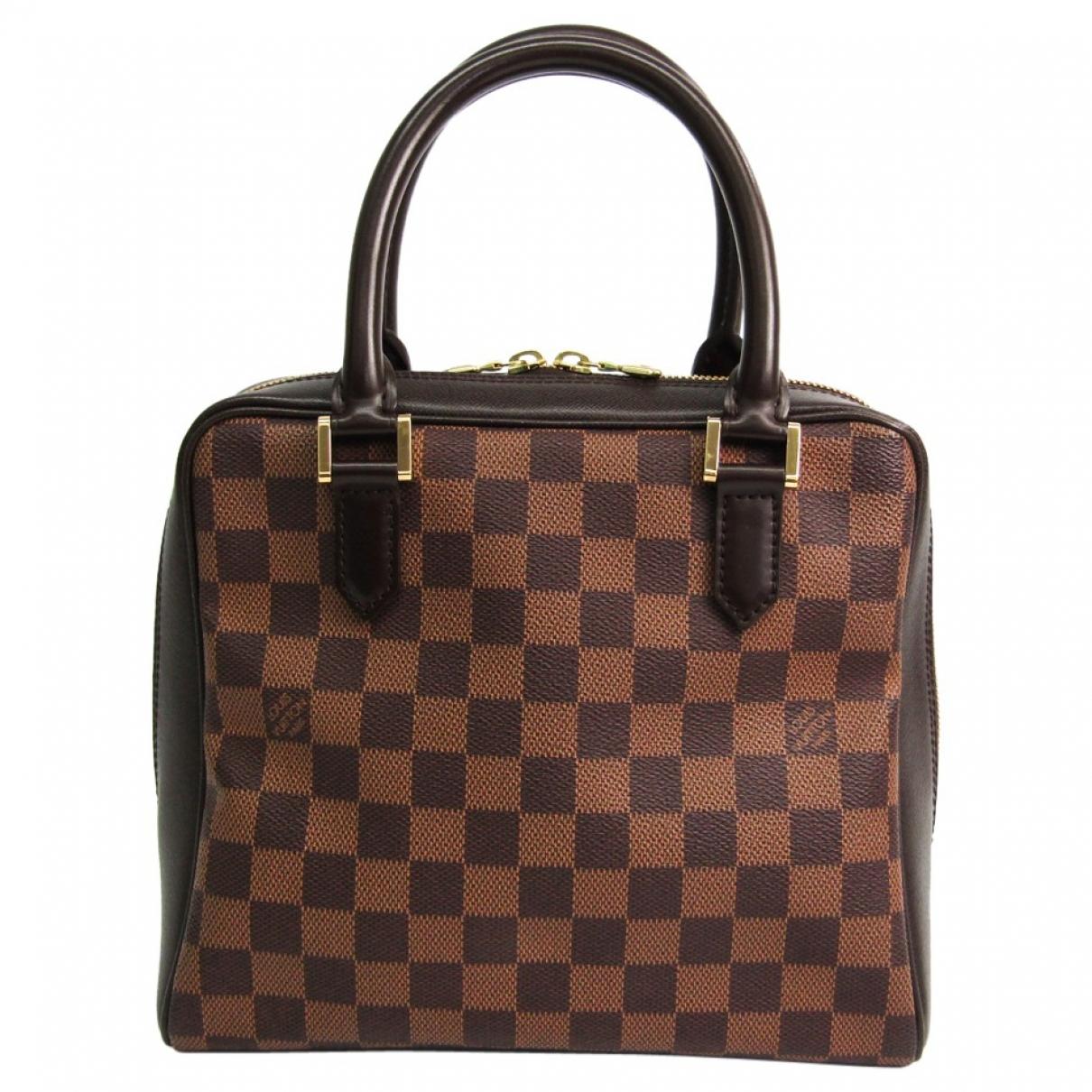 Louis Vuitton Brera Brown Cloth handbag for Women \N