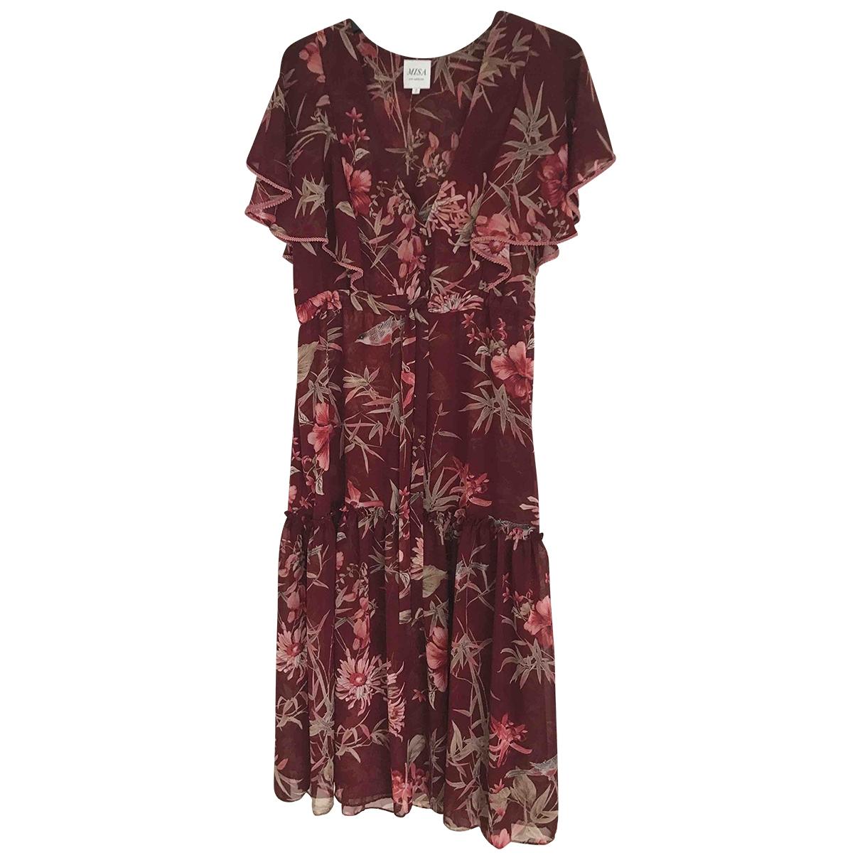 Misa \N Burgundy dress for Women S International