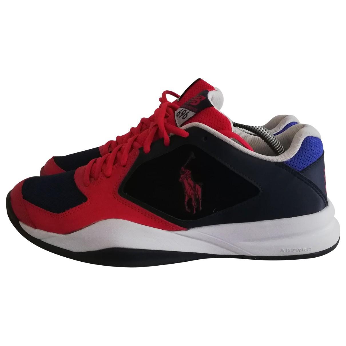 New Balance - Baskets   pour homme en cuir - multicolore