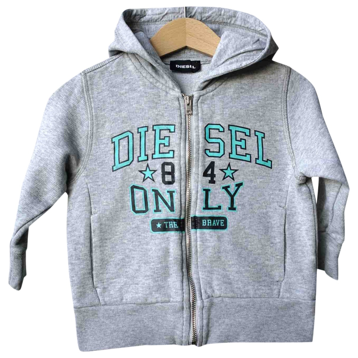 Diesel \N Grey Cotton Knitwear for Kids 18 months - until 32 inches UK
