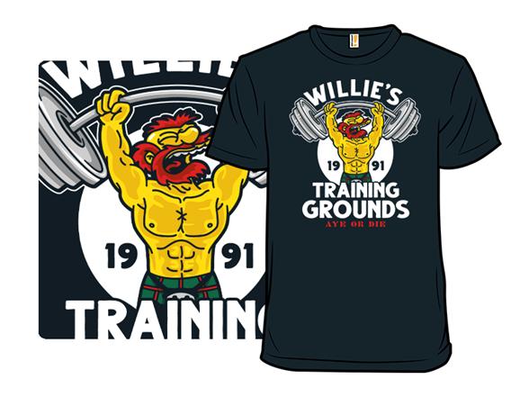 Willie's Training Grounds T Shirt
