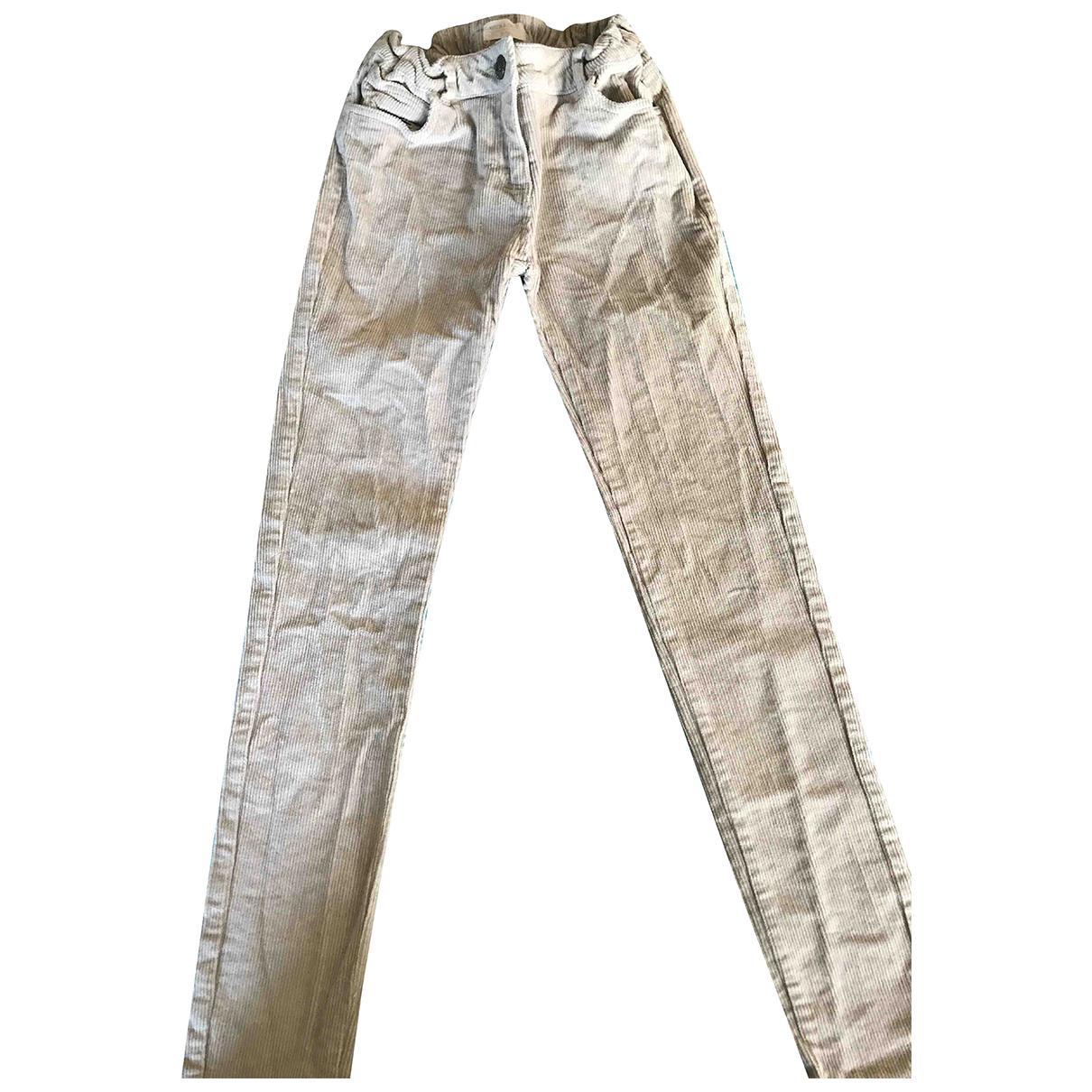 Autre Marque - Pantalon   pour enfant en velours - beige