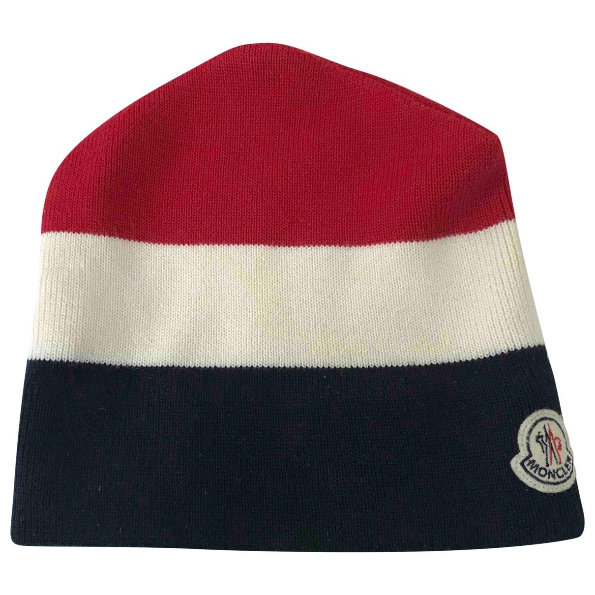 Moncler \N Multicolour Wool hat & pull on hat for Men L International