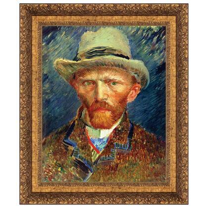DA4832 24X30 Self Portrait Of Van Gogh 1887