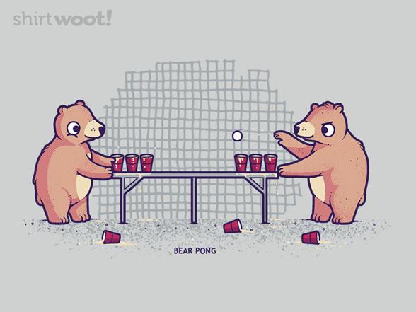 Bear Pong! T Shirt