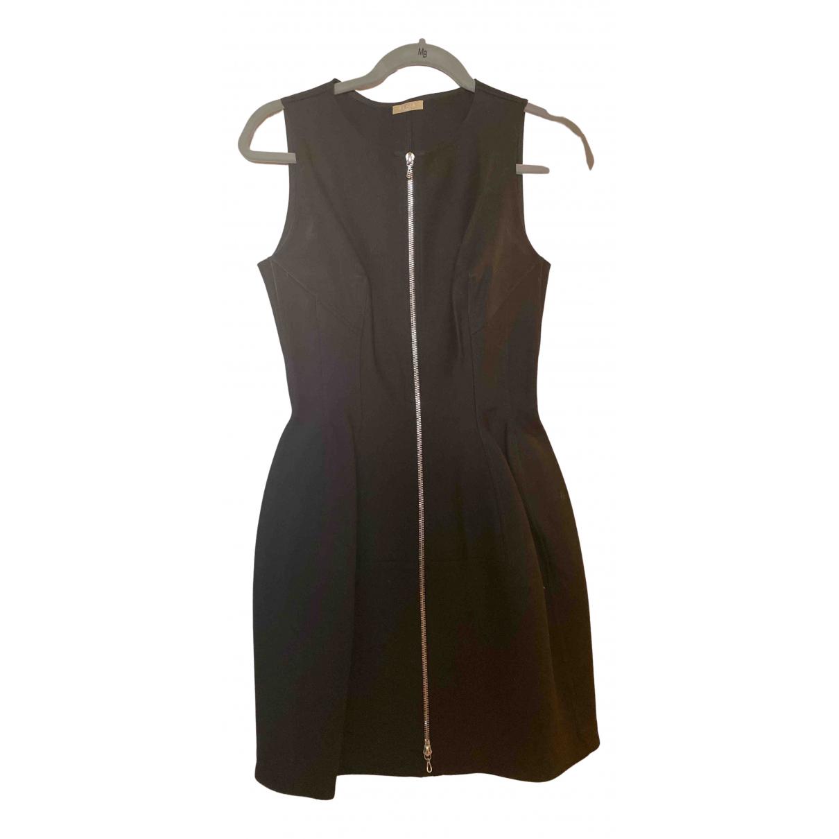 Alaia - Robe   pour femme en coton - elasthane - noir