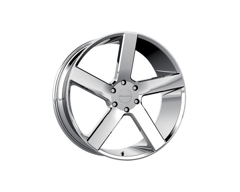 Milanni Wheels 472-2990C15 Switchback Wheel 20x9 5x1150 15 CSCHXX Chrome
