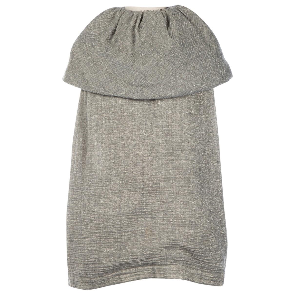 Fendi - Top   pour femme en laine - argente