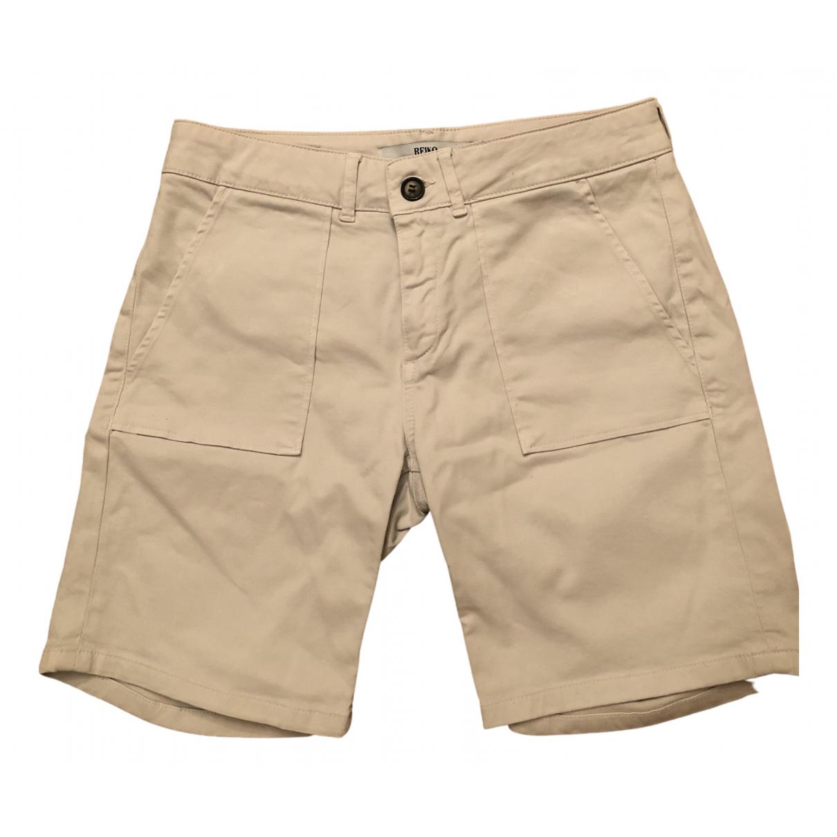 Reiko \N Shorts in  Beige Baumwolle