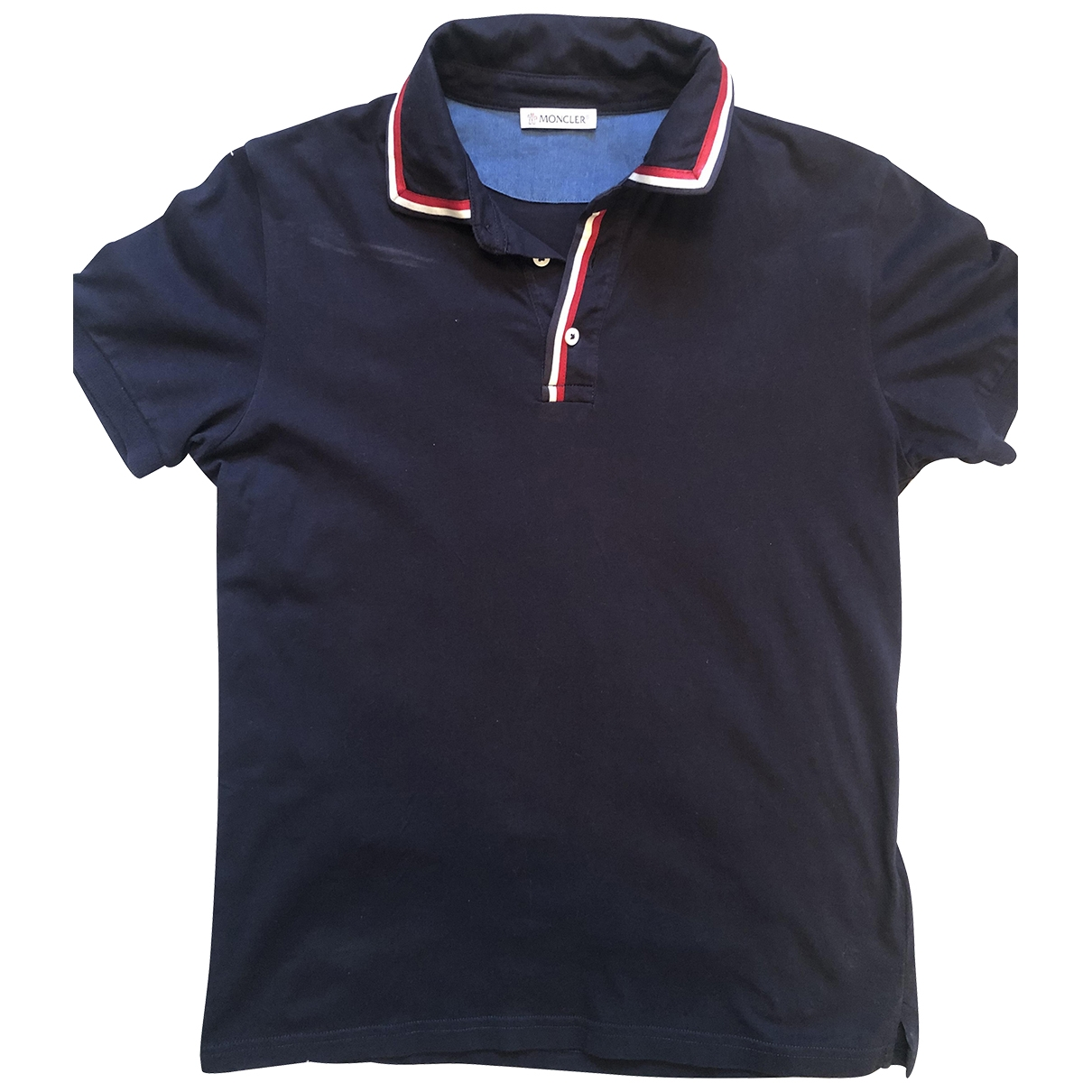 Moncler \N Navy Cotton  top for Kids 14 years - S UK