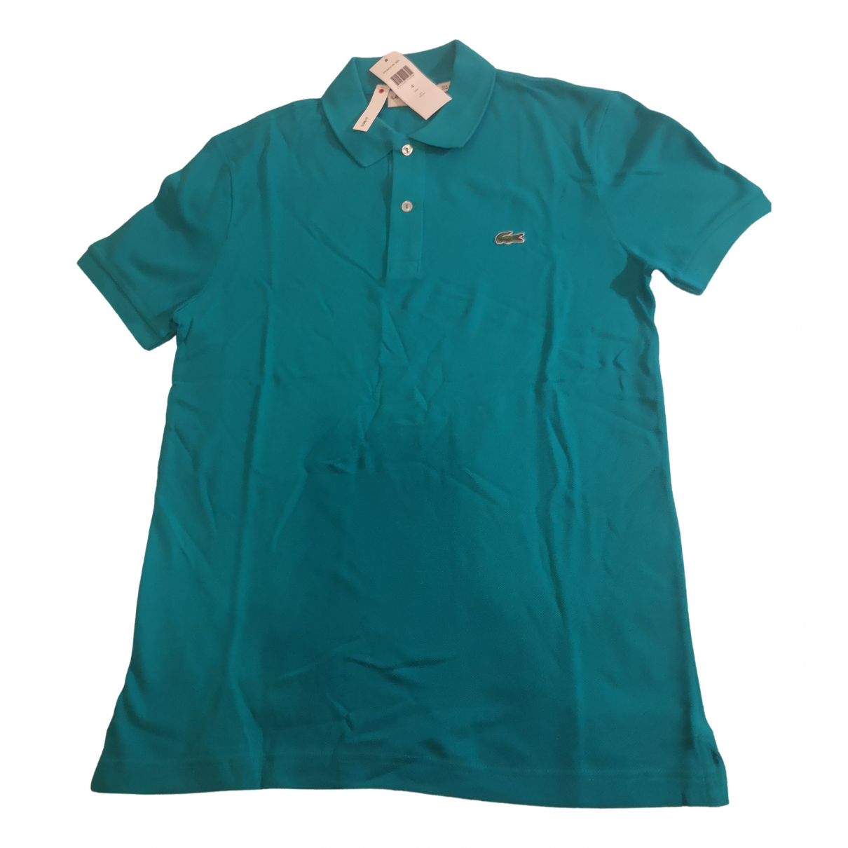 Lacoste N Blue Cotton Polo shirts for Men 4 0 - 6