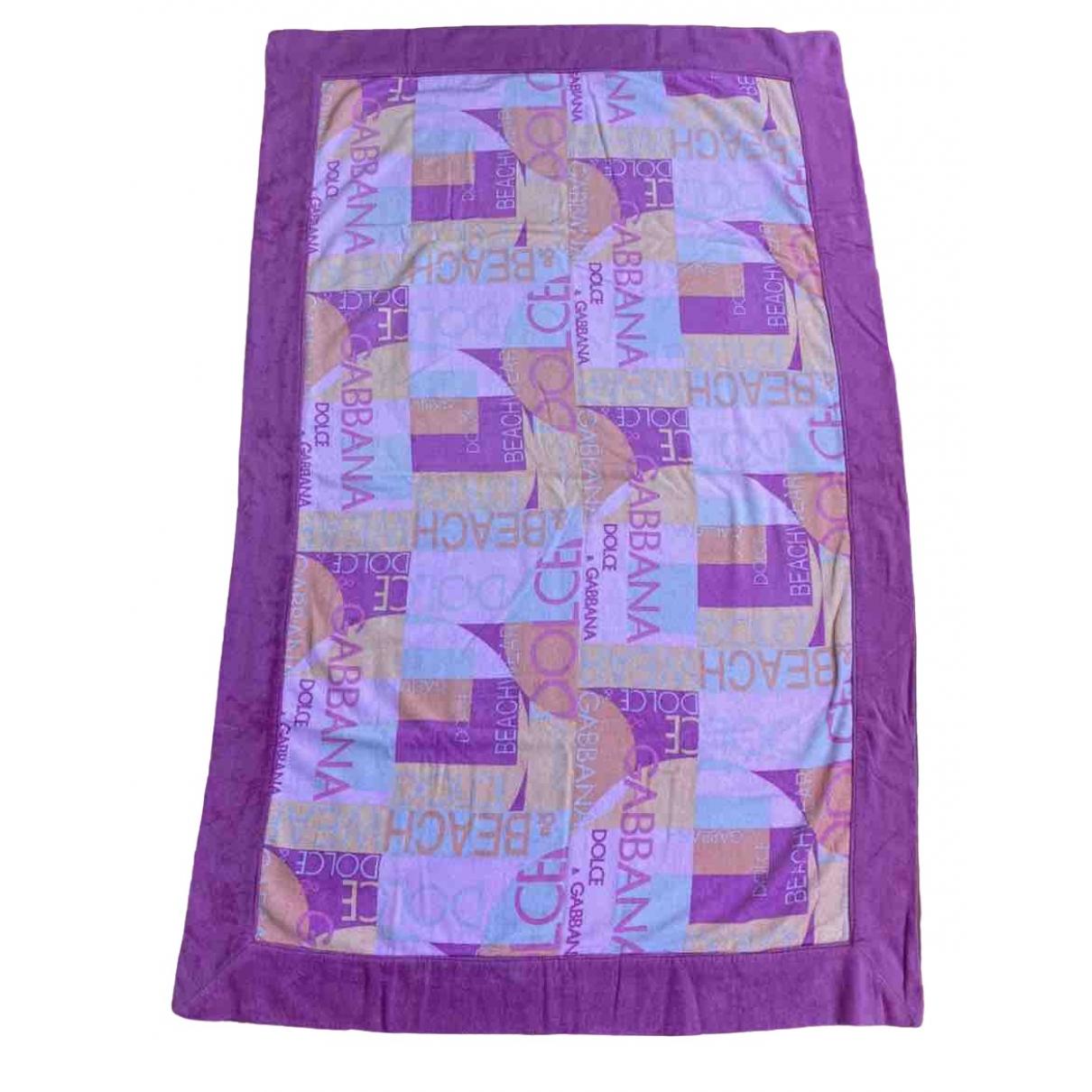 Dolce & Gabbana \N Multicolour Cotton Textiles for Life & Living \N