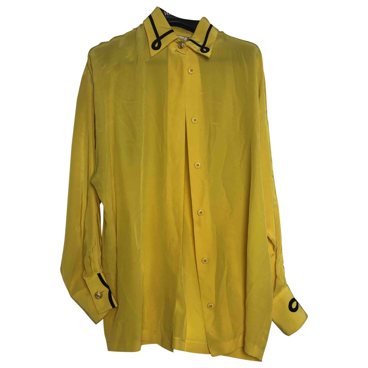 Gianni Versace \N Yellow  top for Women 40 IT