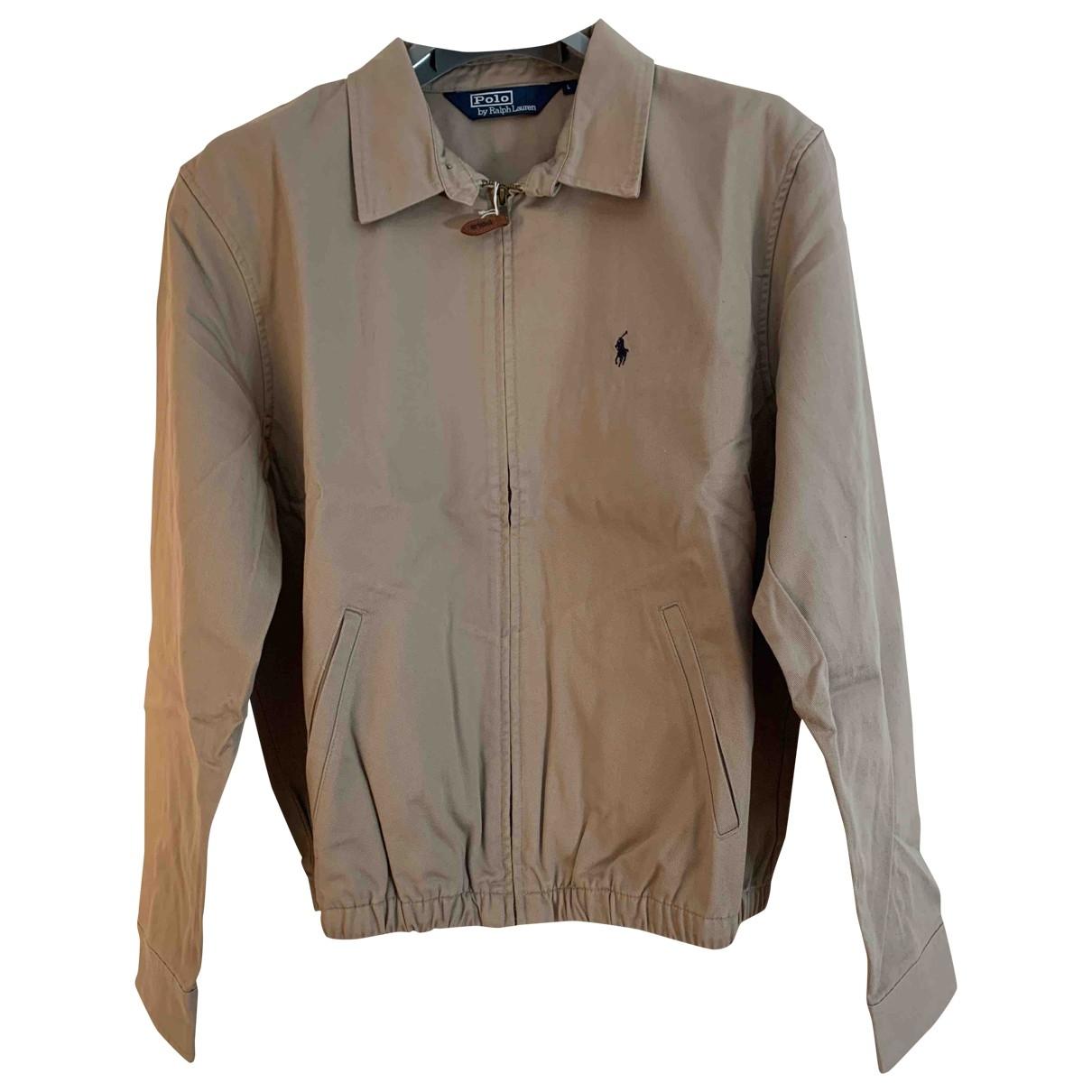 Polo Ralph Lauren \N Jacke in  Khaki Baumwolle