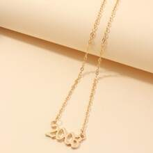 Number Charm Necklace