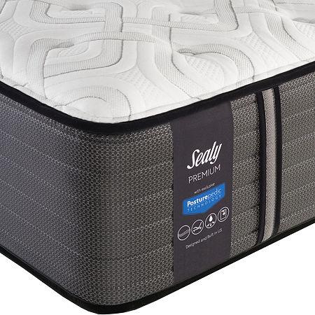 Sealy Faraday Plush - Mattress Only, One Size , White
