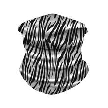 Zebra Stripe Pattern Sun Protection For The Face