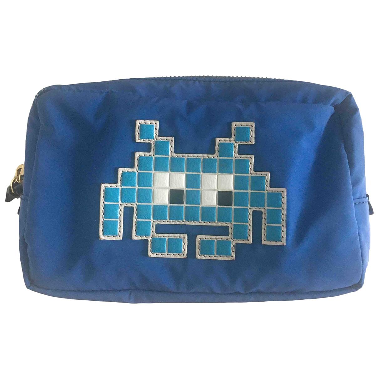 Anya Hindmarch \N Blue Purses, wallet & cases for Women \N