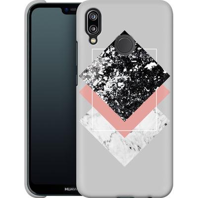 Huawei P20 Lite Smartphone Huelle - Geometric Textures 1 von Mareike Bohmer