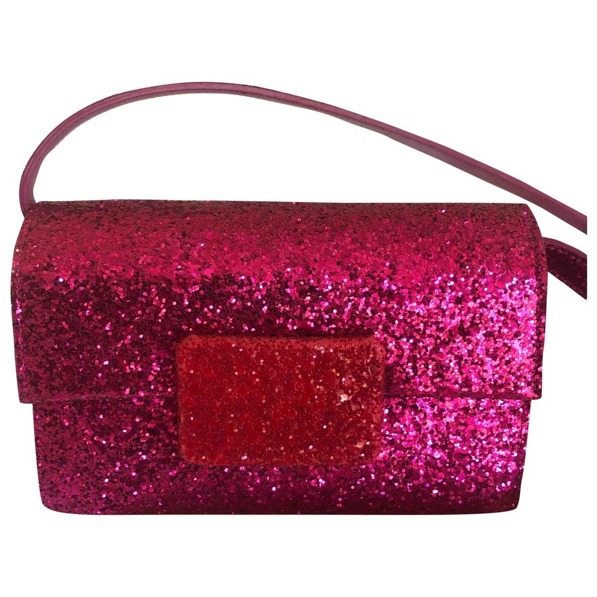 Saint Laurent \N Pink Glitter handbag for Women \N