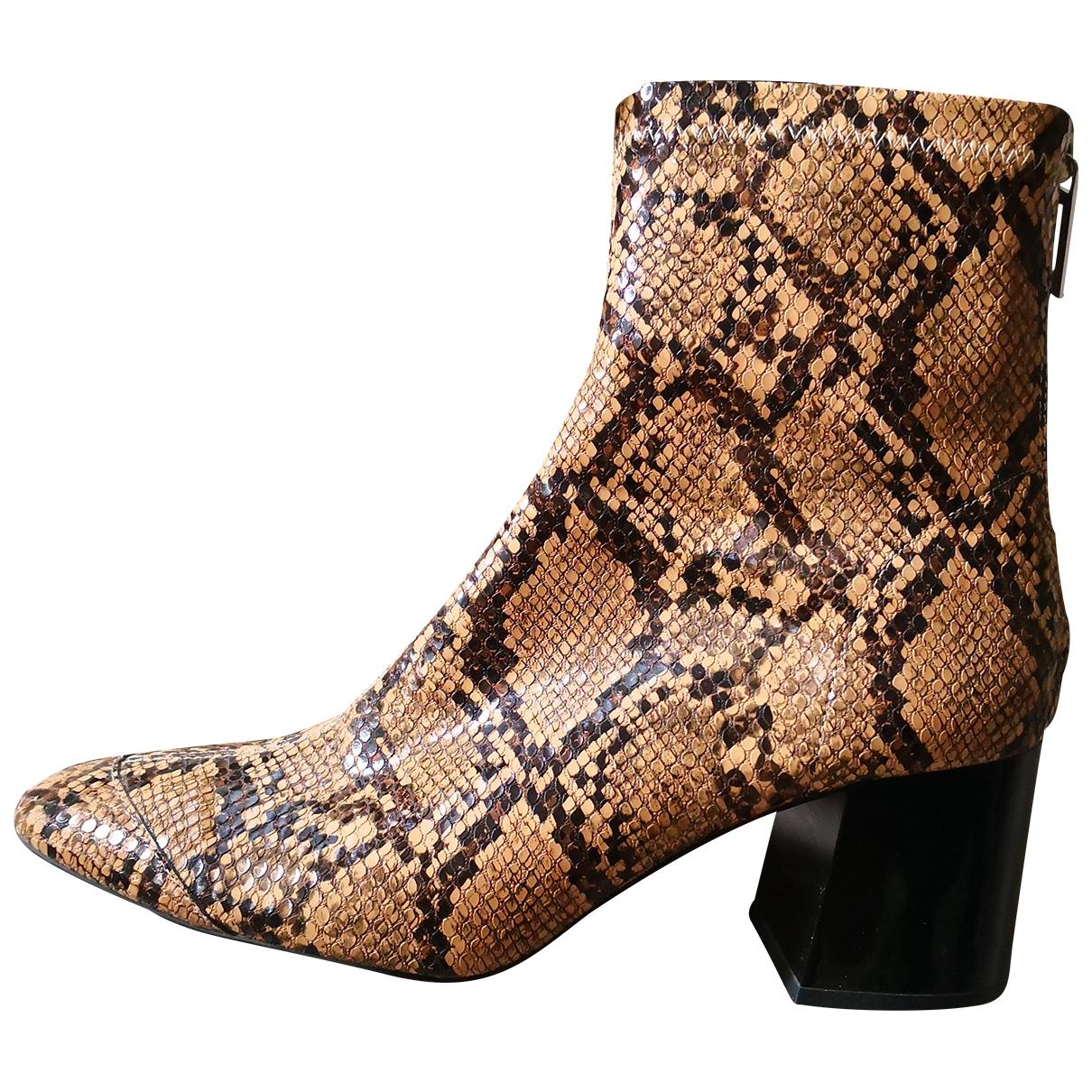 Zara - Boots   pour femme - multicolore