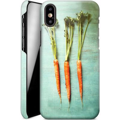 Apple iPhone XS Smartphone Huelle - Three Carrots von Joy StClaire