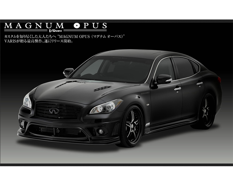 Varis VANI-061 Carbon Full Body Kit with Lip Extension Infiniti M37 | M56 Y51 Fuga 11-13