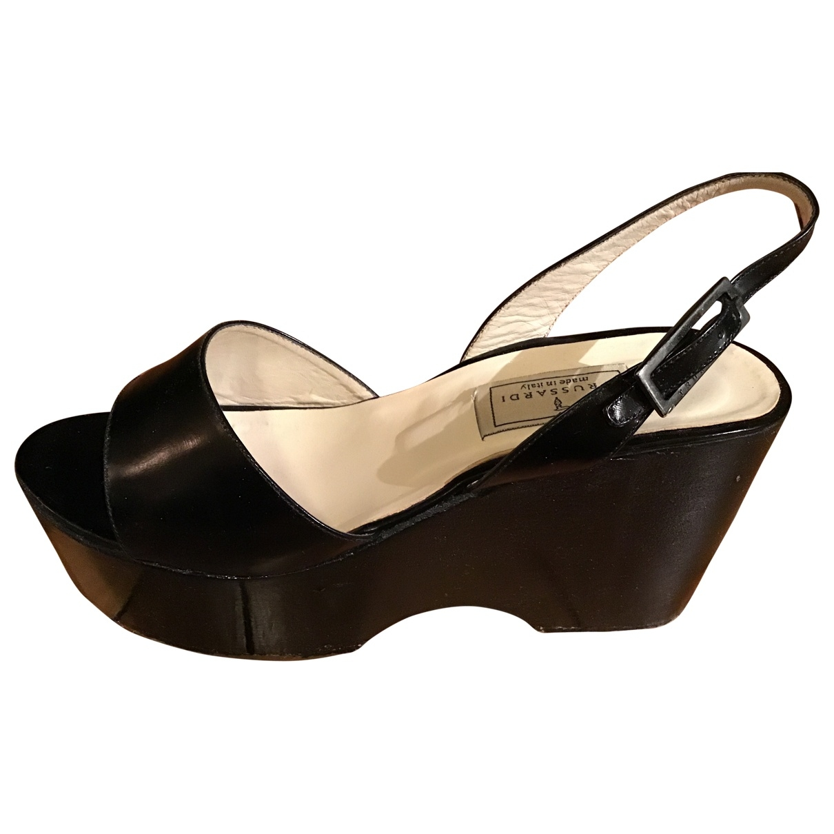Sandalias de Cuero Trussardi