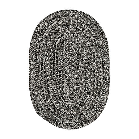 Colonial Mills Kelly Braided Oval Reversible Indoor/Outdoor Rugs, One Size , Gray