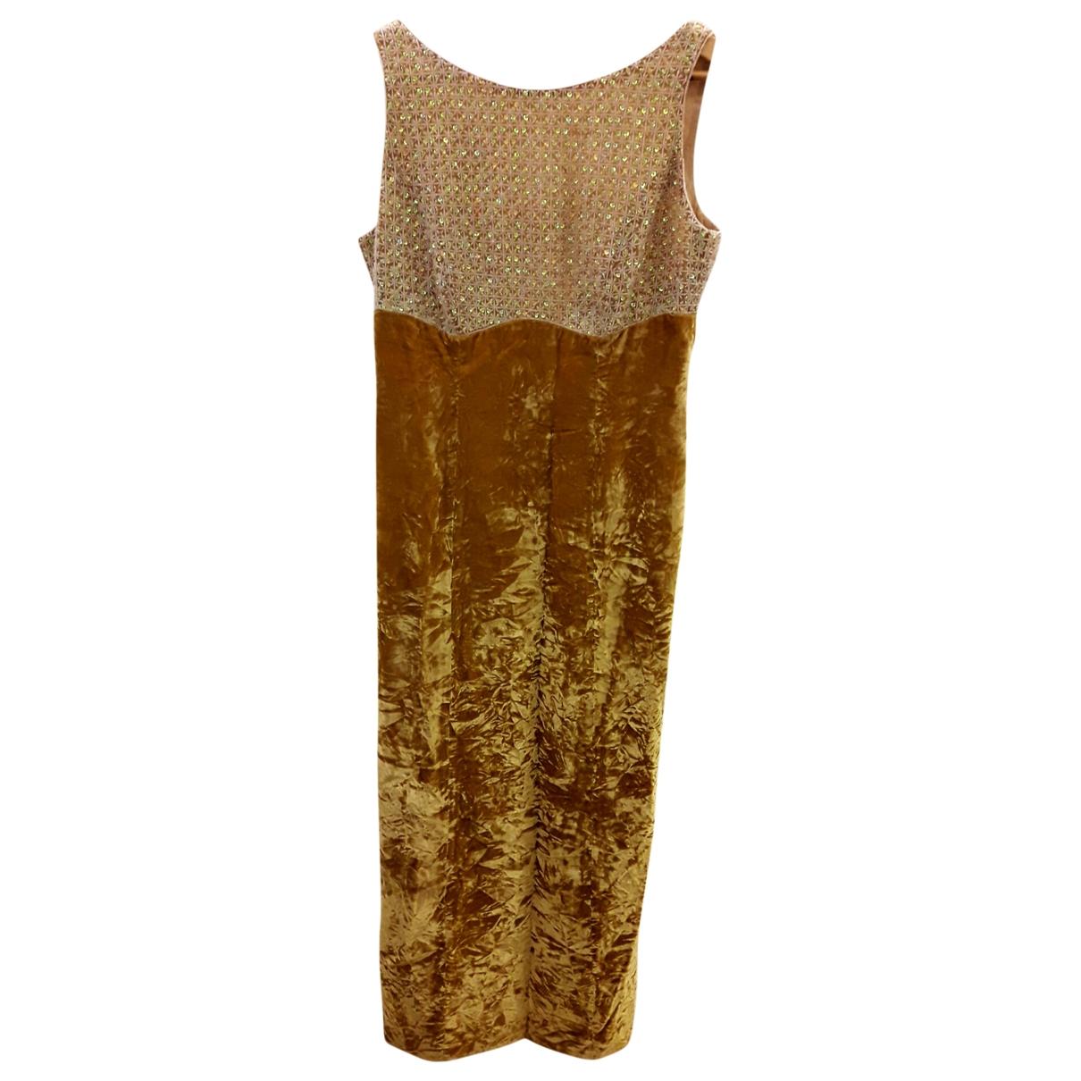 Maxi vestido Escada
