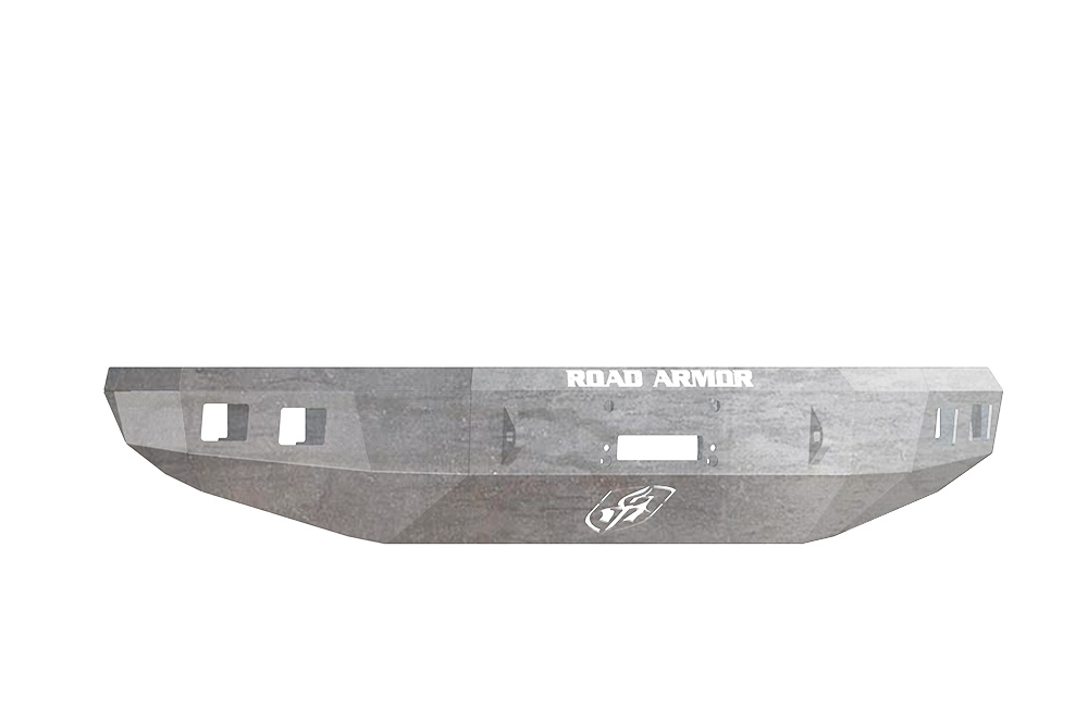 TOYOTA Front Winch Bumper Square Light Ports TUNDRA 14-18 RAW Road Armor 914R0Z Stealth Series