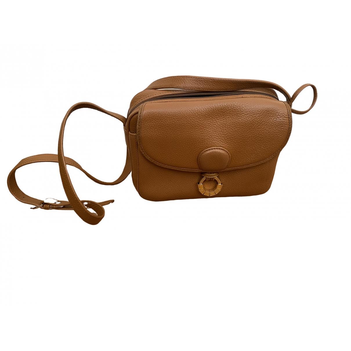 Lancel \N Handtasche in  Kamel Leder