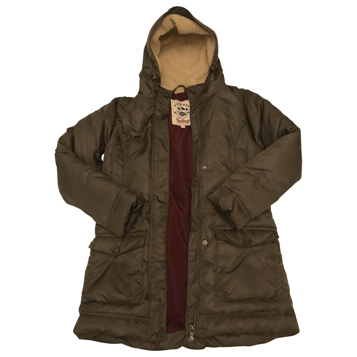 Pyrenex - Blousons.Manteaux   pour enfant - kaki