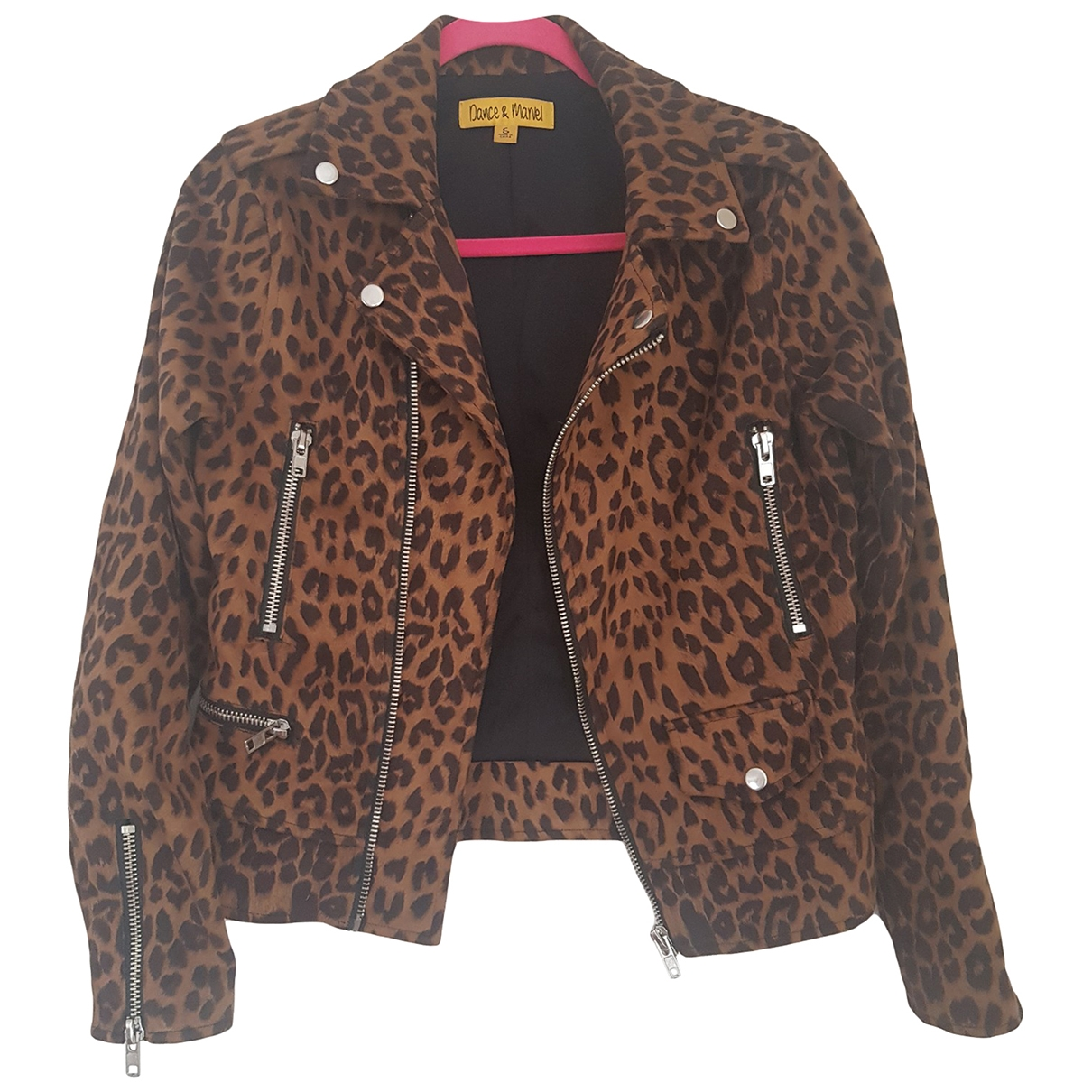 Non Signé / Unsigned \N Camel jacket for Women 38 FR